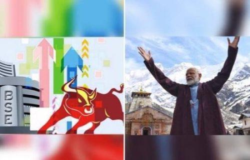 ಷೇರುಪೇಟೆಯಲ್ಲಿ 'ಮೋದಿ ಮೇನಿಯಾ' ಒಂದೇ ದಿನಕ್ಕೆ ಖಲ್ಲಾಸ್ !!!
