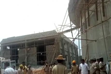 ಬೆಂಗಳೂರಲ್ಲಿ ನಿರ್ಮಾಣ ಹಂತದ ವಾಟರ್ ಟ್ಯಾಂಕ್ ಕುಸಿತ, ಮೂವರು ಸಾವು